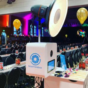 blue Fotobox bei der Verleihung des Schlappmaulordens der KiKaG